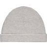 Gray Label Baby Beanie STRIPED (New Fabric) Gray Label Baby Beanie New STRIPES grey