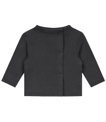 Gray Label Baby Button Cardigan Gray Label Baby Button Cardigan nearly black