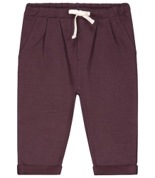 Gray Label Baby Pleated Trousers Gray Label Baby Pleated Trousers plum