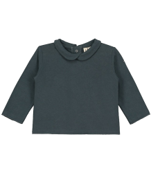 Gray Label Baby Collar Tee NEW Gray Label Baby Collar Tee NEW gray blue