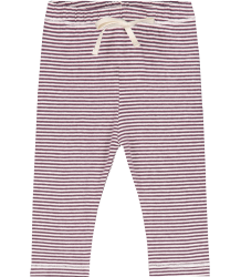 Gray Label Baby Leggings STRIPED Gray Label Baby Leggings STRIPED plum