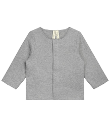 Gray Label Baby Cardigan (New Fabric) Gray Label Baby Cardigan NEW grey melange
