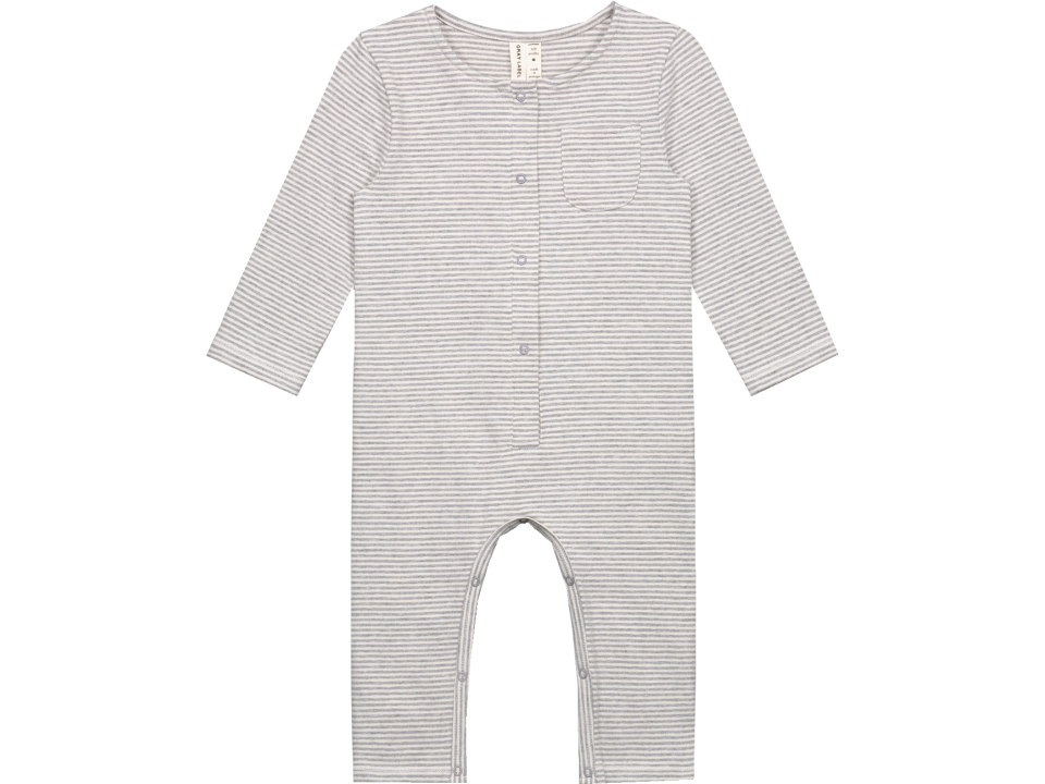 ebb43bb27c Gray Label Baby L S Playsuit STRIPED - Orange Mayonnaise