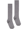Gray Label Long Ribbed Socks Gray Label Long Ribbed Socks grey melange