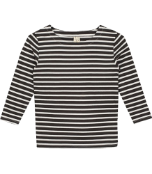 Gray Label LS STRIPED T-shirt (New Fabric) Gray Label LS Striped T-shirt NEW black white