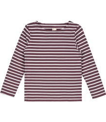 Gray Label LS STRIPED T-shirt NEW Gray Label LS Striped T-shirt NEW plum