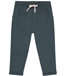 Gray Label Pleated Trousers Gray Label Summer Pleated Pant blue grey