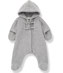 1+ in the Family ANDRE Polar suit 1  in the Family ANDRE Polar suit grey melange