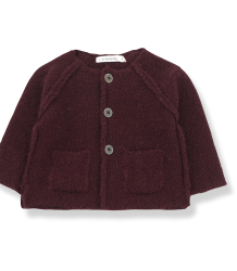 1+ in the Family AGNES Knitted Jacket 1  in the Family AGNES Knitted Jacket prune