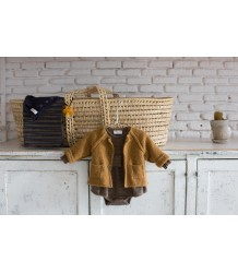 1+ in the Family AGNES Knitted Jacket 1more  in the Family AGNES Knitted Jacket ochre
