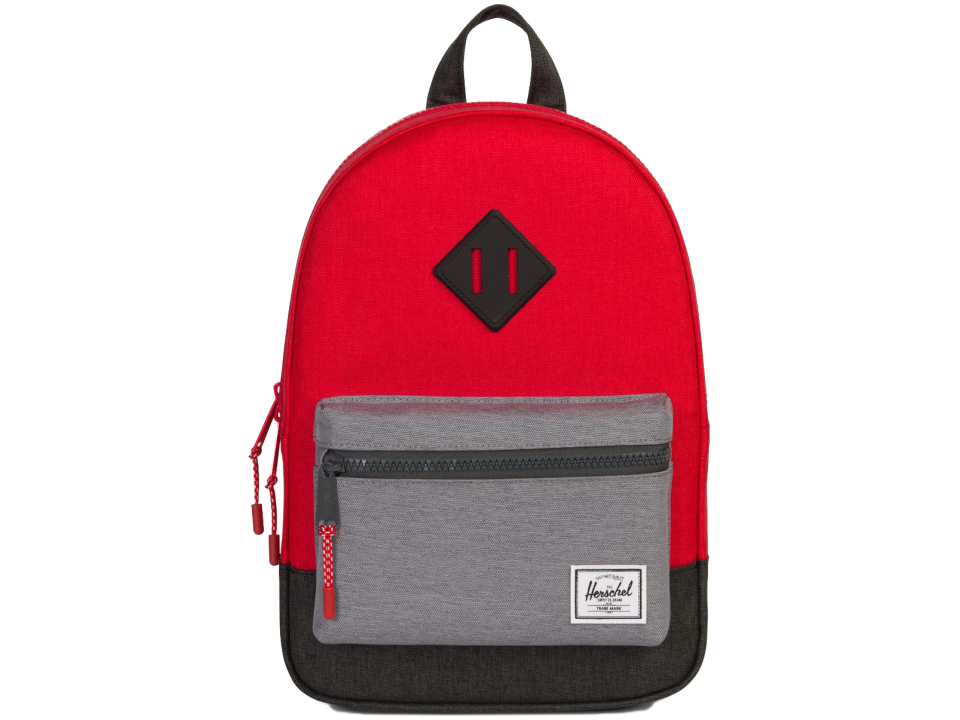 140e8bf7ede Herschel Heritage Backpack Kid COLOURBLOCK - Orange Mayonnaise