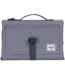 Herschel Sprout Change Mat CROSSHATCH Herschel Sprout Change Mat mid grey