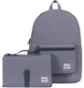 Herschel Settlement Sprout CROSSHATCH Herschel Settlement Sprout made grey