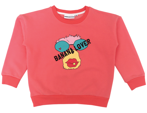 Gardner and the Gang The Classic Sweatshirt BANANA LOVER MONKEY