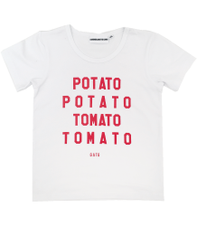 Gardner and the Gang The Cool Tee POTATO TOMATO Gardner and the Gang The Cool Tee POTATO TOMATO