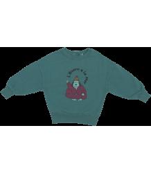 Fresh Dinosaurs Baby Sweatshirt HIVERN A LA MER Fresh Dinosaurs Baby Sweatshirt HIVERN A LA MER