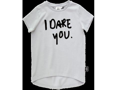 Little Man Happy I DARE YOU Longline Shirt