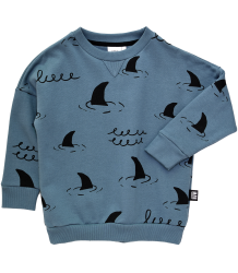 Little Man Happy SHARKS Loose Sweater Little Man Happy SHARKS Loose Sweater