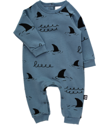 Little Man Happy SHARKS Jumpsuit Little Man Happy SHARKS Jumpsuit