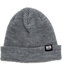 Little Man Happy WOOL Beanie Little Man Happy WOOL Beanie grey