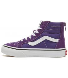 VANS SK8-Hi Kids Zip SUEDE VANS SK8-Hi Kids Zip SUEDE violet