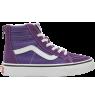 VANS SK8-Hi Kids Zip SUEDE VANS SK8-Hi Kids Zip SUEDE purple