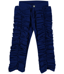 Caroline Bosmans Bottom Ruffle Caroline Bosmans Bottom Ruffle blue
