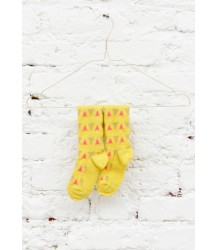 April Showers by Polder Milk Knee Socks April Showers by Polder - Milk Knee Socks - lemon yellow