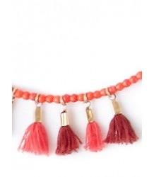 April Showers by Polder Nevada Necklace April Showers by Polder - Nevada Necklace - Coral