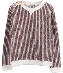 Emile et Ida Sweatshirt STRIPES Emile et Ida Sweatshirt STRIPES brique
