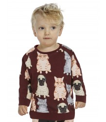 Filemon Kid Sweatshirt FAT CATS & PUG aop Filemon Kid Sweatshirt FAT CATS & PUG aop