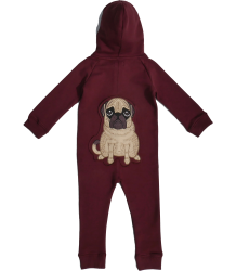 Filemon Kid Onesie PUG Filemon Kid Onesie PUG wine red