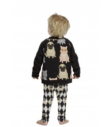 Filemon Kid Leggings PUG DIAMOND aop Filemon Kid Leggings PUG DIAMOND aop