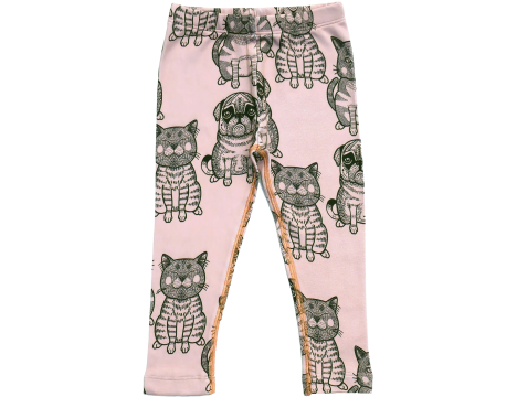 Filemon Kid Leggings CATS & PUGS aop