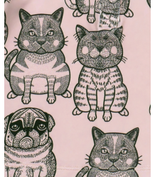 Filemon Kid Leggings CATS & PUGS aop Filemon Kid Leggings CATS & PUGS aop
