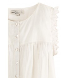 April Showers by Polder Lucie Blouse April Showers by Polder Lucie Blouse - white