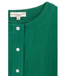 April Showers by Polder Lynn Blouse - OUTLET April Showers by Polder Lynn Blouse - green