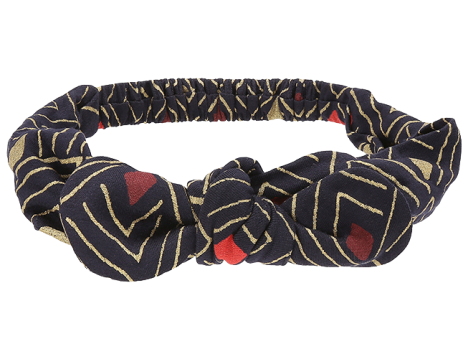 Soft Gallery Bow Hairband AOP