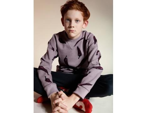 Little Man Happy HOT CHILI Loose Sweater