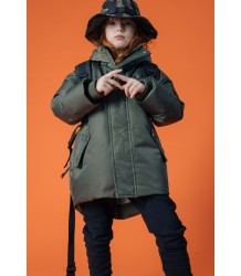 Finger in the Nose Snowdoll Oversized Down Jacket Finger in the Nose Snowdoll Oversized Down Jacket khaki