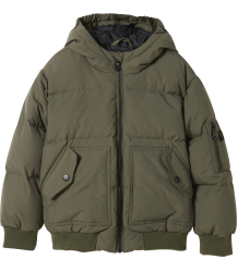 Finger in the Nose Snowmove Down Bomber Jacket Finger in the Nose Snowmove Down Bomber Jacket khaki