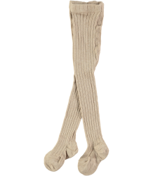 Mini Sibling Ribbed Tights Mini Sibling Ribbed Tights oatmeal