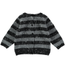 Mini Sibling Knit Reversible Sweater-Cardigan STRIPES Mini Sibling Knit Sweater-Cardigan STRIPES