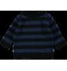 Mini Sibling Knit Sweater-Cardigan STRIPES Mini Sibling Knit Sweater-Cardigan STRIPES blue