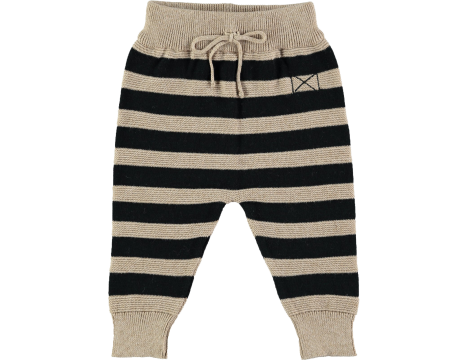 Mini Sibling Knit Trousers STRIPES