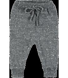 Mini Sibling Knit Trousers Mini Sibling Knit Trousers grey melange
