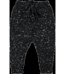 Mini Sibling Knit Trousers Mini Sibling Knit Trousers black melange