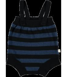 Mini Sibling Knit Short Romper w/Suspenders STRIPES Mini Sibling Knit Short Romper w/Suspenders stripes