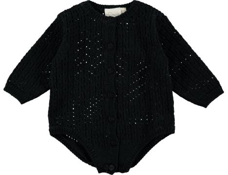Mini Sibling Knit Body Suit VINTAGE