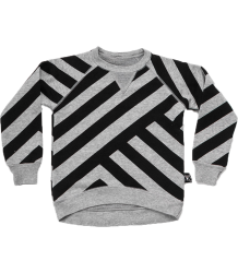 Nununu Sweatshirt STRIPED Nununu Sweatshirt STRIPED grey melange